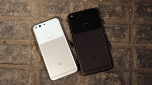Merged photos revealed a cutout in the screen Pixel 3 XL