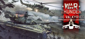 More tanks, planes and helicopters in The Valkyries, the new War Thunder