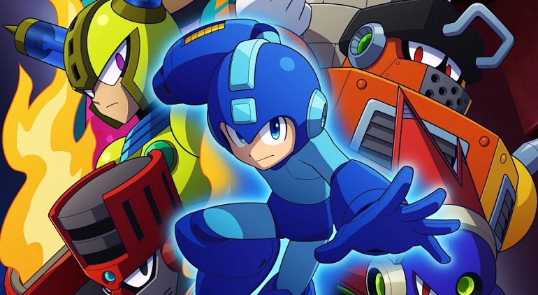 Capcom worked on Another Mega Man Game before Mega Man 11