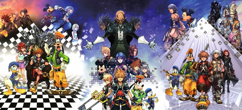 Square Enix Presents New Compilation of Kingdom Hearts for PS4