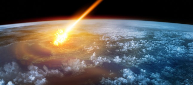 exploding meteor in England