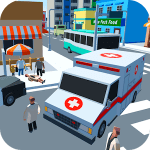 Ambulance Driver – Extreme city rescue For PC (Windows & MAC)