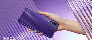 Lenovo Z5s appears in official teasers revealing color choices