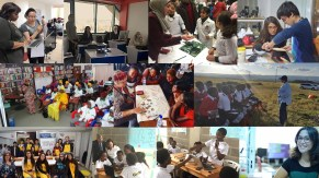 Around the world, TechWomen fellows and mentors have launched initiatives, hosted workshops and led projects to support women and engage with girls in their communities to realize their potential in STEM fields and beyond.