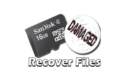 Recover The Files and Data