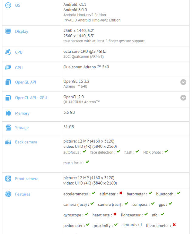 Nokia 9 spotted running Android 8.0 Oreo on GFXBench