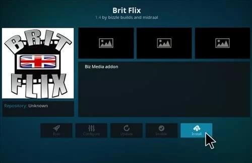 Brit Flix Kodi Addon