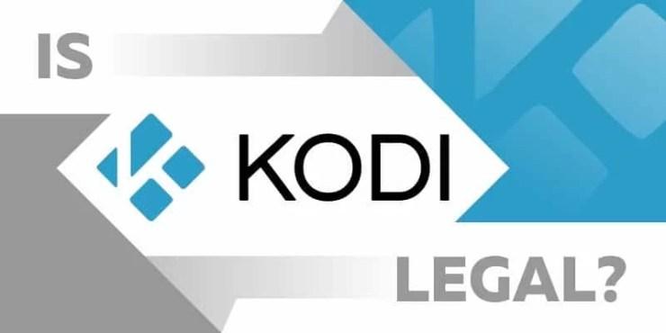 Is Kodi Legal