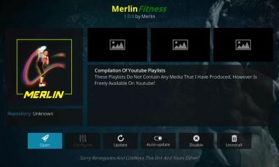 Merlin Fits Kodi Add-On