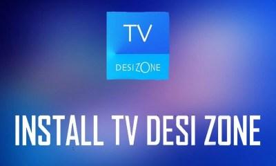 TV on Desi Zone Kodi Add-on