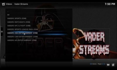 How to Install Vader Streams on Kodi with Vader Streams Repo