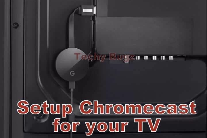 Setup Chromecast