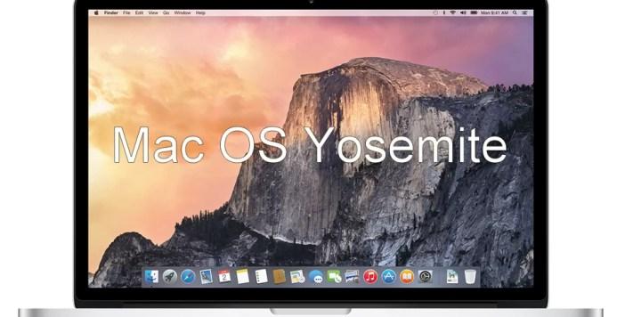 Version 10.10 Yosemite