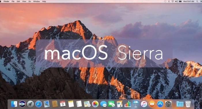 Version 10.12 Sierra