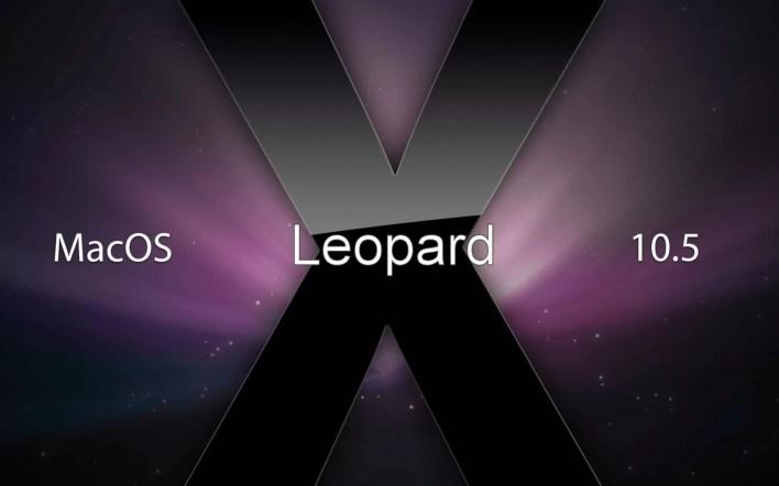 Version 10.5 Leopard