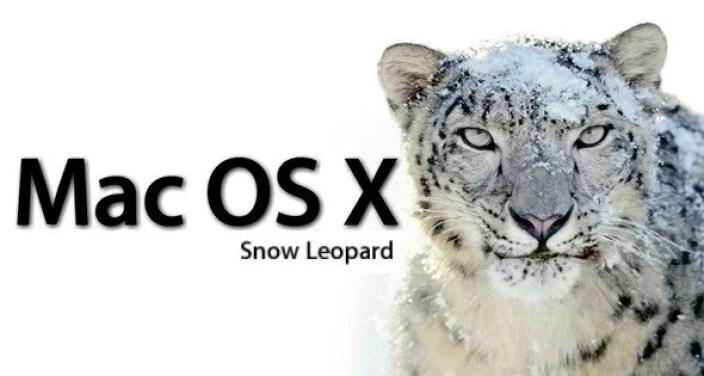 Version 10.6 Snow Leopard