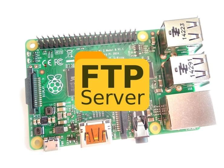 Raspberry Pi FTP Server