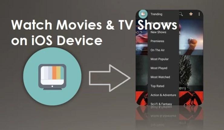 Terrarium TV iOS
