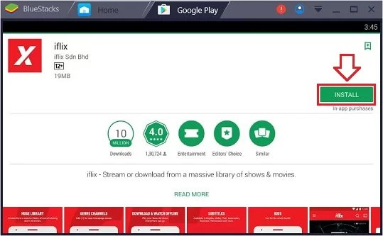 iFlix Download for PC