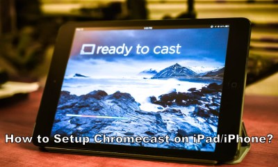 Chromecast on iPad