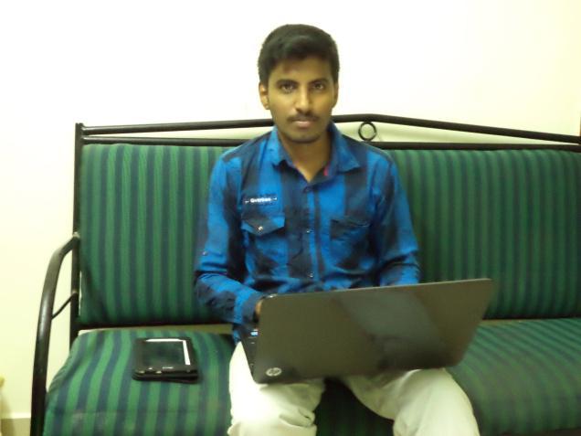 ArunKumar B.E Graduate from TamilNadu