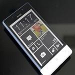 Windows Phone With black liv