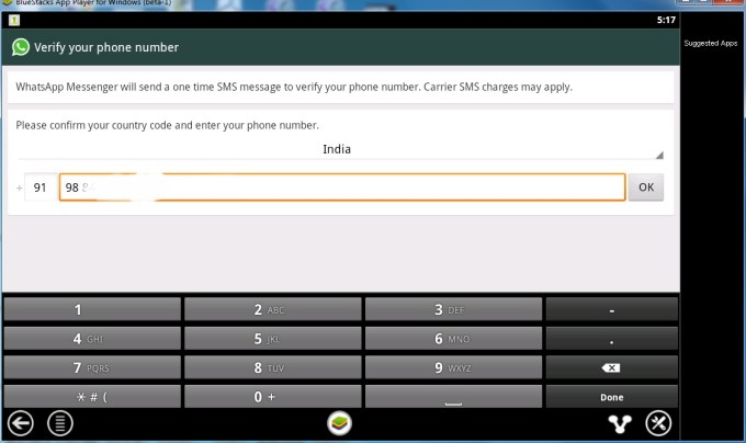 Configuring Whatsapp 2