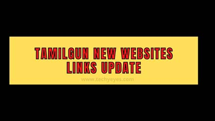 Tamilgun New Websites Links Update