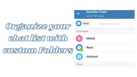 Organize your chat list with custom Folders