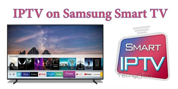 IPTV on Samsung Smart TV - Install and Setup Guide for 2019
