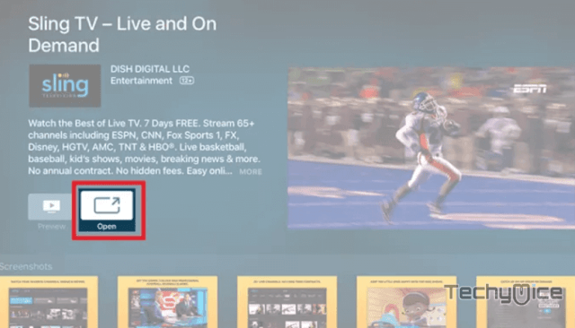 How to Install Sling TV on Apple TV? [Easily] - TechyMice