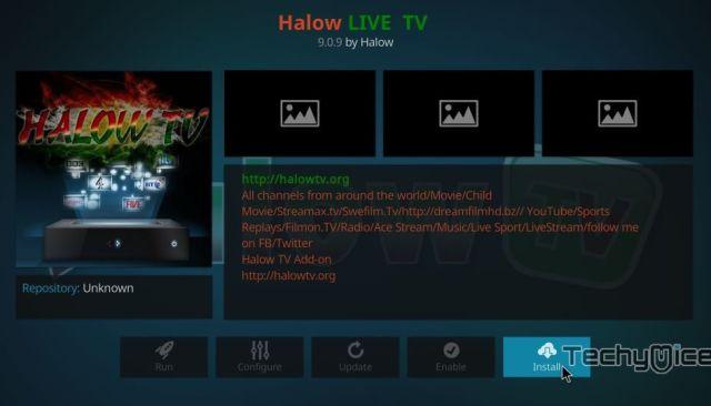 How to Install Halow Live TV Kodi Addon Using Halow Repo