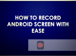 android record screen