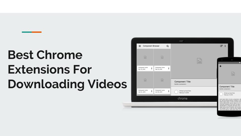 chrome extension download video dailymotion