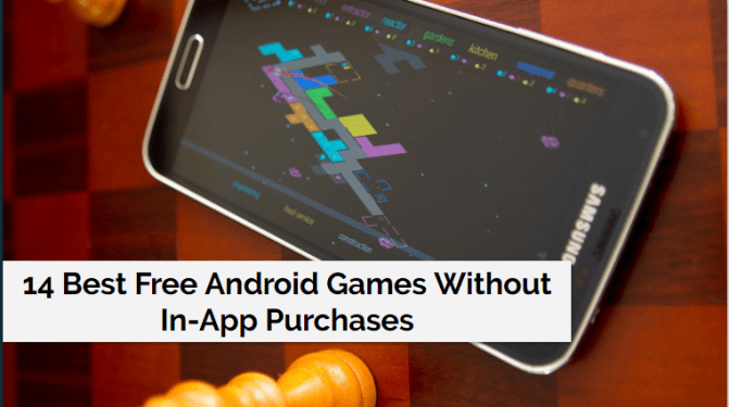 Android Games Without In-App Purchases