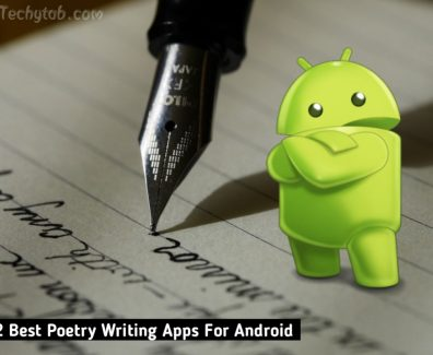 Poetry Writing Apps For Android