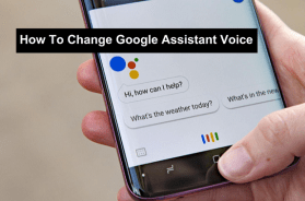 How to change Google Assistant voice