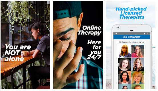 Counseling - Talk, Chat & Video Conference - Live