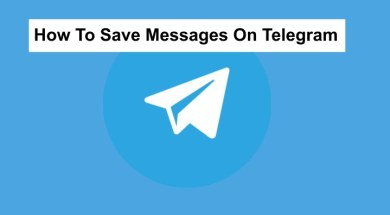 save messages on telegram