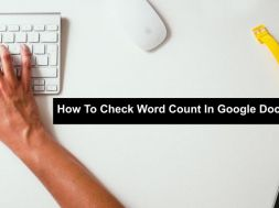How To Check Word Count In Google Docs