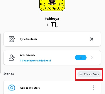 How To Create A Private Story On Snapchat