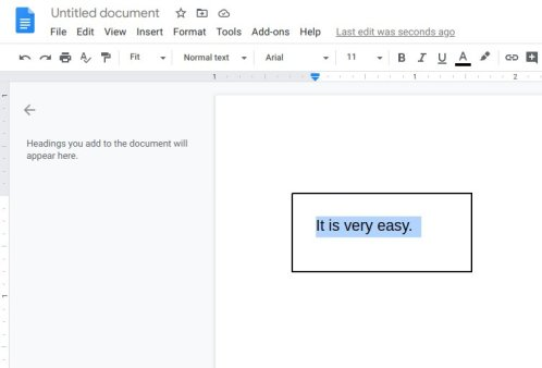 Put A Line Through Text In Google Docs