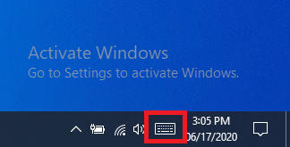 How To Activate On Screen Keyboard Windows 10