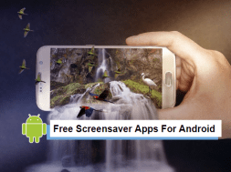 free scrensaver apps for android