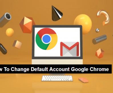 how to change account google chrome