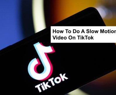 how to do slow mo on tiktok