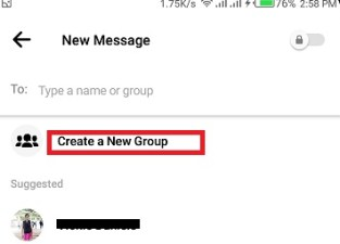 make group chat on messenger
