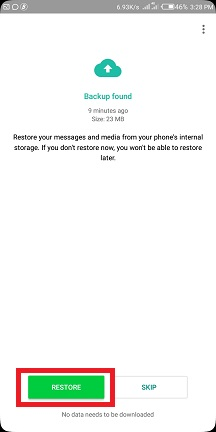 Restore Whatsapp Backup From Google Drive