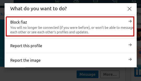 How To Block Someone On LinkedIn Without Them Knowing