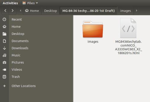 ubuntu save